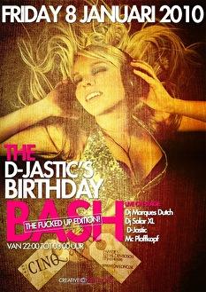 D-Jastic's Birthday Party (flyer)