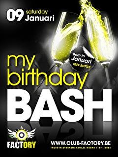 My Birthday Bash (flyer)