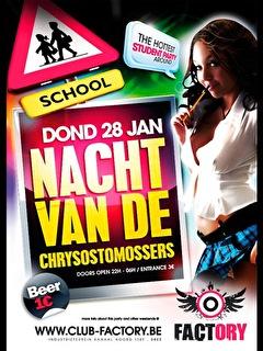 Nacht Van De Chrysostomossers (flyer)