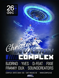 Christmas Invasion (flyer)