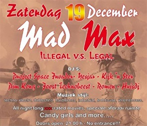 Mad Max (flyer)