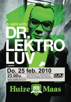 Play with dr. Lektroluv (flyer)