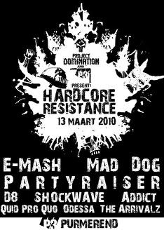 Hardcore Resistance (flyer)