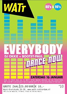 Everybody Dance Now (flyer)