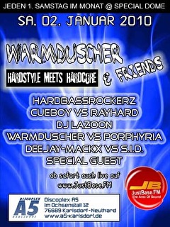 Warmduscher & Friends (flyer)