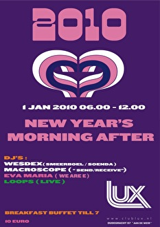 New Year's morning after (flyer)