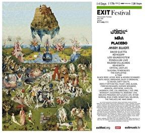 Exit Fest (flyer)