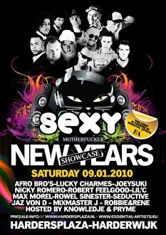 Sexy Motherfucker New Years Showcase (flyer)
