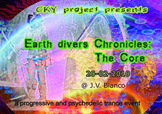 Earthdivers Chronicles (flyer)