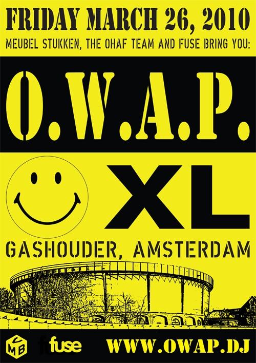 O.W.A.P. XL (flyer)