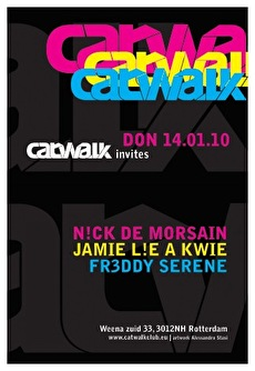 Catwalk invites (flyer)