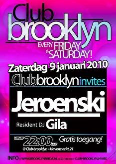 Club brooklyn invites (flyer)