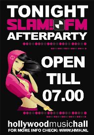Slam!fm Afterparty (flyer)