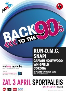 Back to the 90s (flyer)