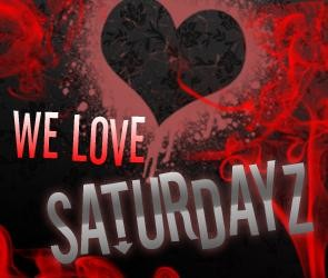 We Love Saturdayz (flyer)