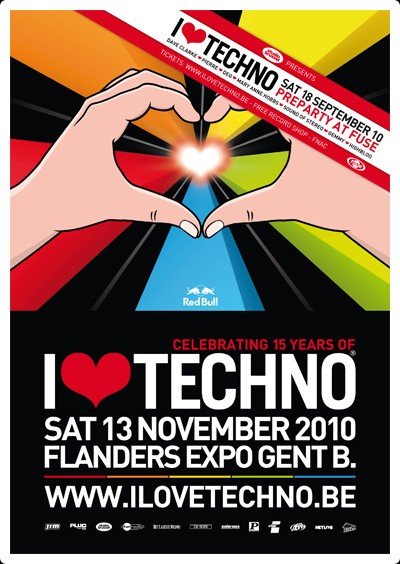 I love Techno (flyer)