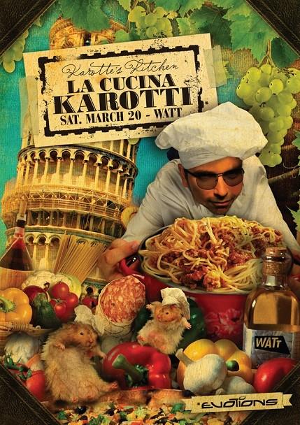 Karotte's Kitchen (flyer)