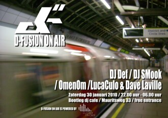 D-Fusion On Air (flyer)