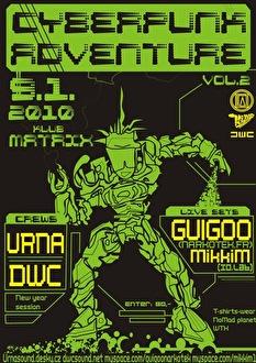 Cyberpunk Adventure (flyer)