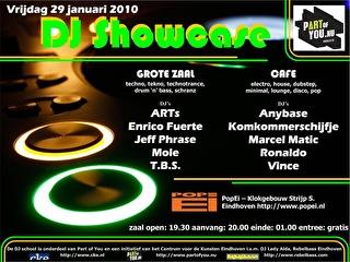DJ Showcase (flyer)