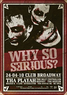 Why So Serious? (flyer)