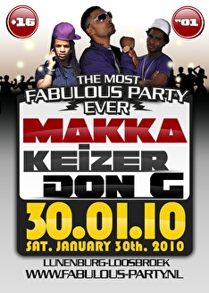Fabulous party (flyer)