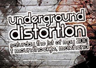 Underground Distortion (flyer)