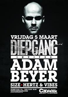 Diepgang invites Adam Beyer (flyer)