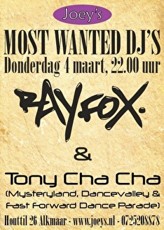 Most Wanted DJ'S (flyer)