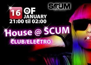 House in Scum (flyer)
