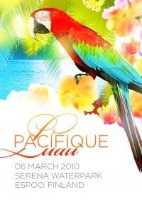 Pacifique Luau (flyer)