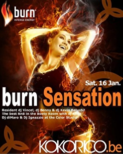 Burn Sensation (flyer)