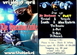 The Operation Table (flyer)