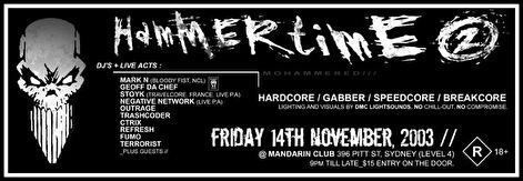 Hammertime 2 (flyer)