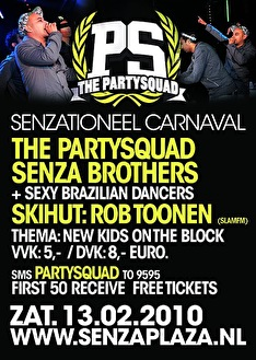 Partysquad loves Carnaval (flyer)