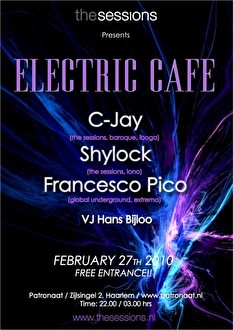 Electric Café (flyer)