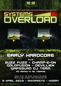 Systems Overload (flyer)