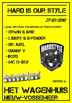 Hard is our style (flyer)