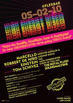 High Energy Disco (flyer)