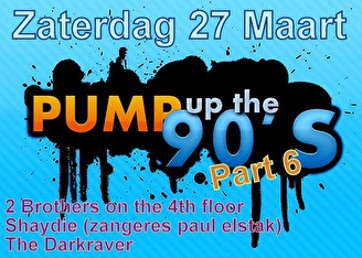 Pump up the 90's (flyer)