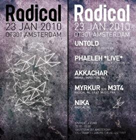 Radical VII (flyer)