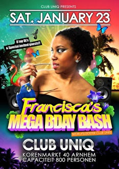 Francisca's B-Day Bash (flyer)