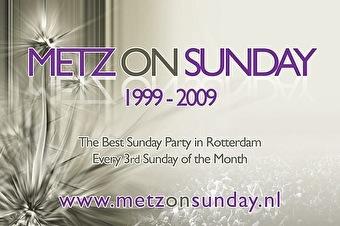 Metz on Sunday invites (flyer)