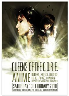 Queens of the C.O.R.E. (flyer)