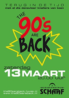 The 90's Are Back (flyer)
