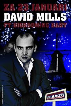 David Mills ft. BigBooming Bart (flyer)