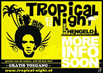 Tropical Night outdoor (flyer)