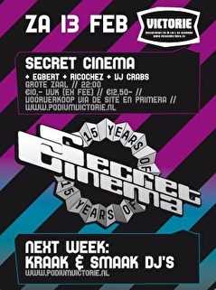 Secret Cinema (flyer)