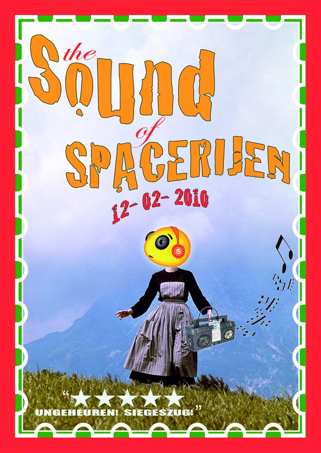 The Sound of Spacerijen (flyer)