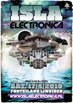 Isla Electronica (flyer)